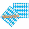2nd Oktoberfest Napkins 33cm 2Ply Pack of 12 Gallery View Image