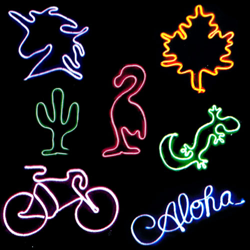 Create Your Own Neon Effect Flexible Sign Kit 2.5m Product Gallery Image