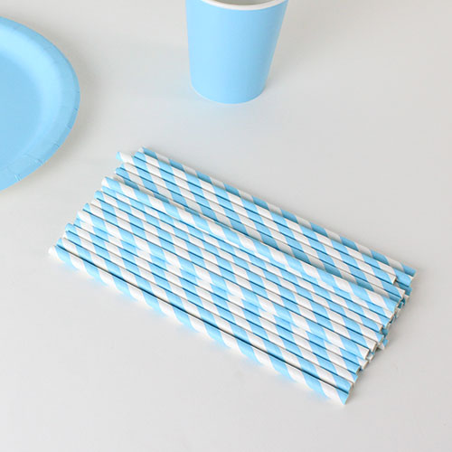 biodegradable-baby-blue-and-white-stripes-party-paper-straws-pack-of-40-product-image