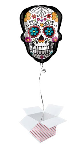 day-of-the-dead-sugar-skull-supershape-helium-foil-balloon-inflated-balloon-in-a-box-product-image