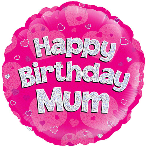 happy-birthday-mum-pink-holographic-round-foil-helium-balloon-46cm-18inch-product-image