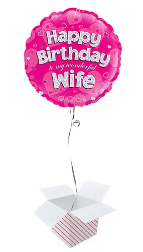 happy-birthday-wife-pink-holographic-round-foil-helium-balloon-inflated-balloon-in-a-box-product-image