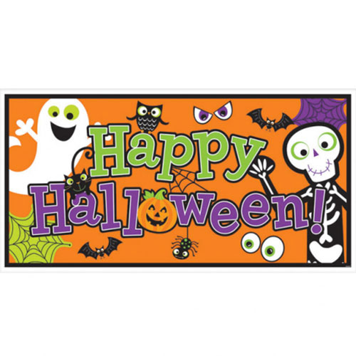 happy-halloween-foil-banners-1.65m-x-85cm-product-image