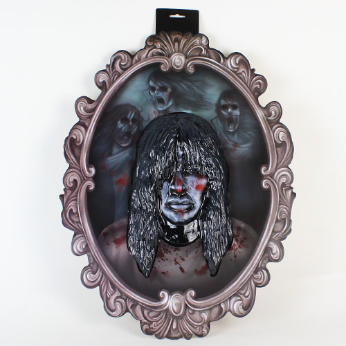 Halloween Haunted Mansion 3D Wall Hanging Decoration 65cm Product Gallery Image
