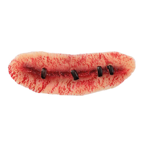 Latex Wound Stitched Halloween Fancy Dress Product Gallery Image