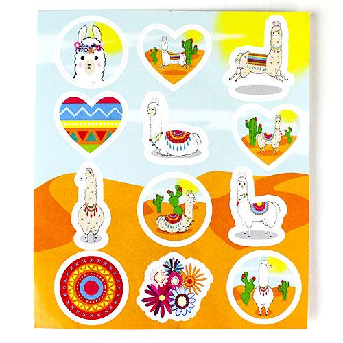 Llama Sticker Sheet