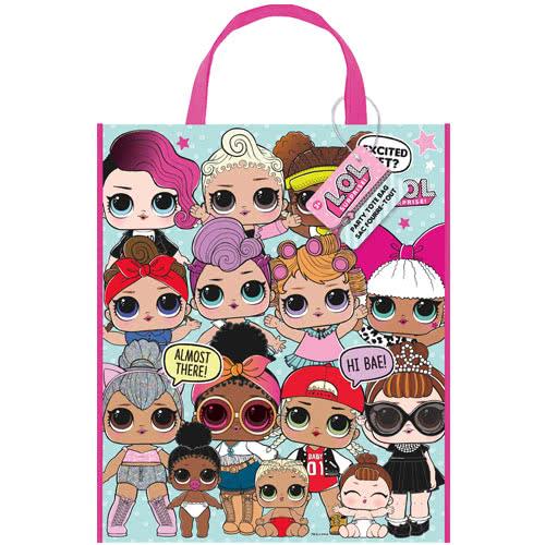 LOL Surprise Party Tote Bag 33cm x 27cm