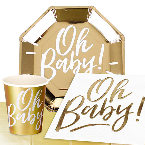 Oh Baby 8 Person Value Party Pack