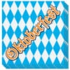 Oktoberfest Napkins 33cm 2Ply Pack of 12 Product Image