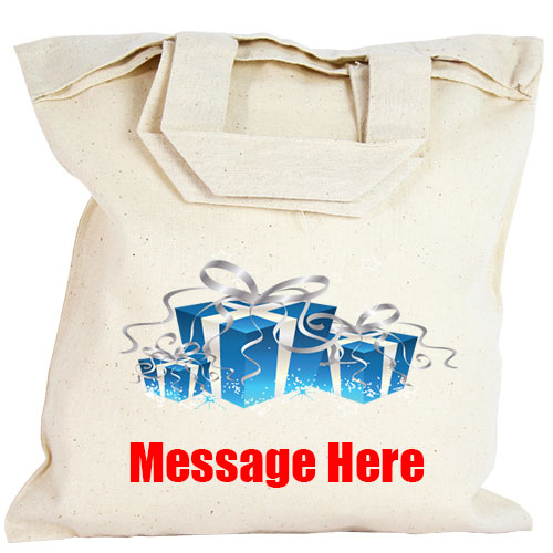 Personalised Party Bag - Christmas Presents