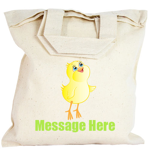 Personalised Party Bag - Easter Chick