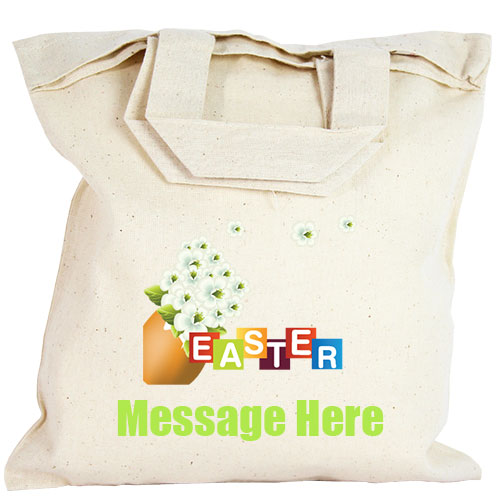 Personalised Party Bag - Easter Flowers