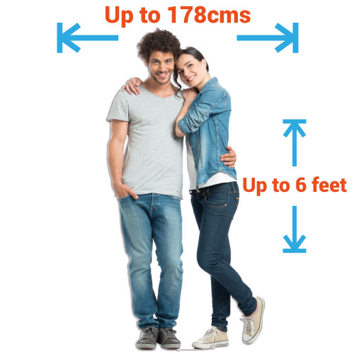 Personalised Cardboard Cutouts - Double