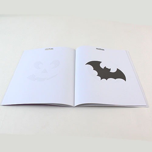 Halloween Stencil Book Product Gallery Image