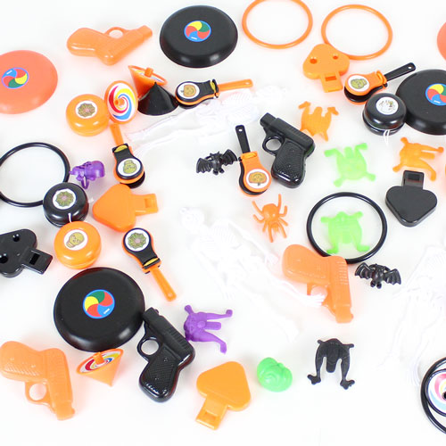 Assorted Halloween Toys Party Favours - Pack of 72
