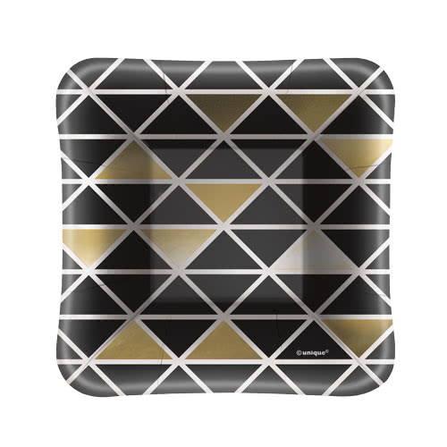 Chic Party Square Appetizer Plate 13cm - Pack of 8 Product Image