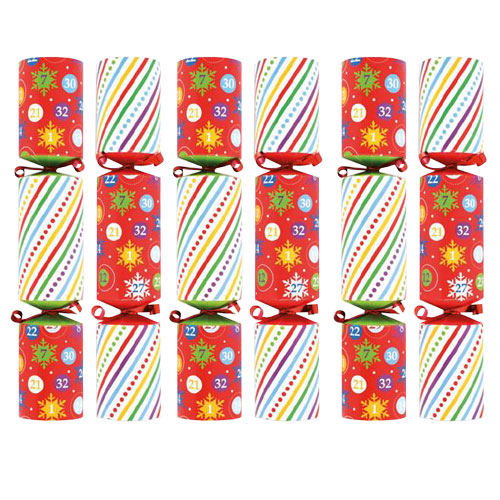 Family Bingo Game Christmas Crackers - Pack of 6 Product Gallery Image