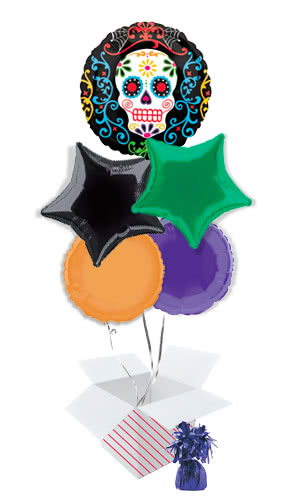 day-of-the-dead-balloon-bouquet-5-inflated-balloons-in-a-box-product-image