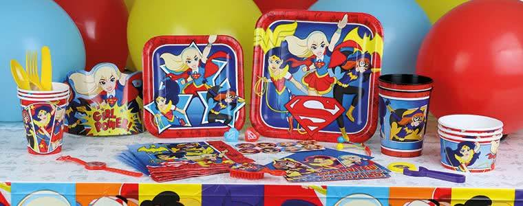 DC Super Hero Girls Party Supplies Top Image