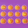 Halloween Stencil Book Pack Of 12 Product Image