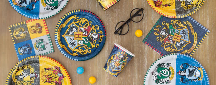 Harry Potter Party Supplies Top Image