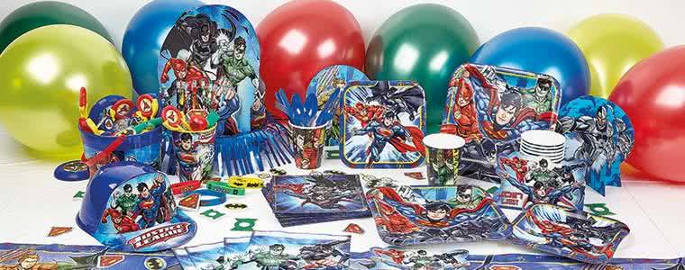 Justice League Party Supplies Top Image