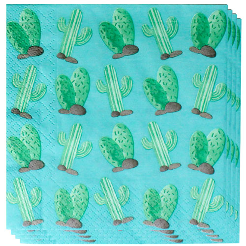 Llama Party Luncheon Napkins 33cm 2Ply - Pack of 20