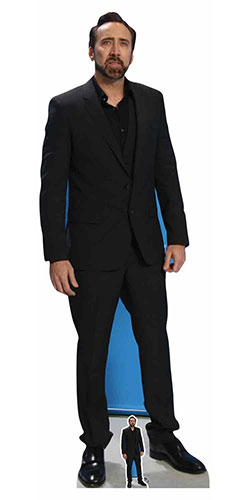 Nicolas Cage Lifesize Cardboard Cutout 186cm Product Gallery Image