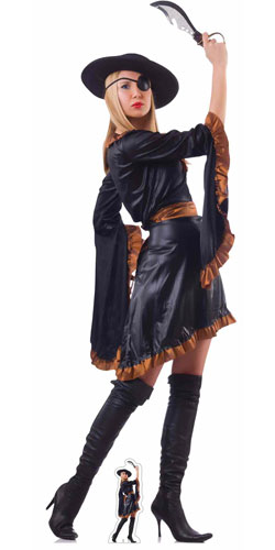 Pirate Woman Lifesize Cardboard Cutout 192cm Product Gallery Image