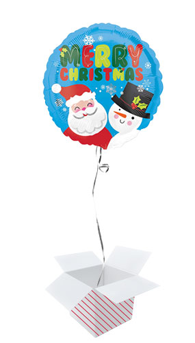 santa-and-snowman-christmas-round-foil-helium-balloon-inflated-balloon-in-a-box-product-image