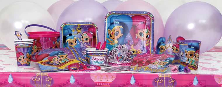 Shimmer & Shine Party Supplies Top Image