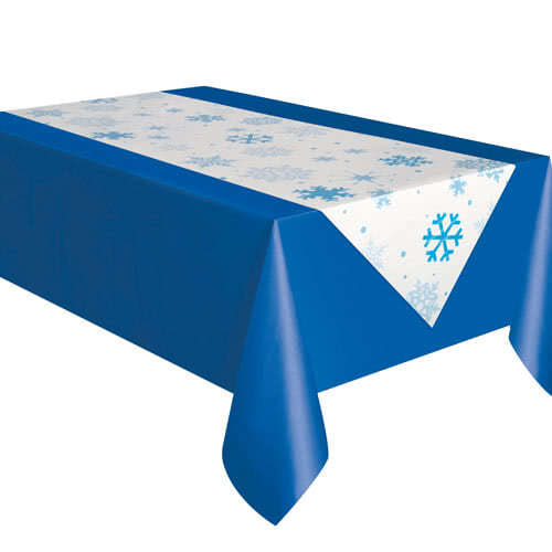 Christmas Snowflake Table Runner 223cm Product Image