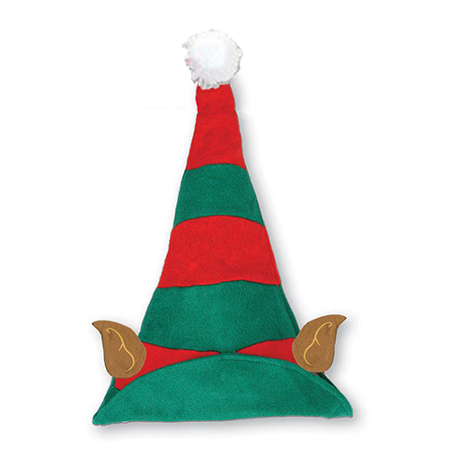Christmas Elf Hat With Ears 40cm