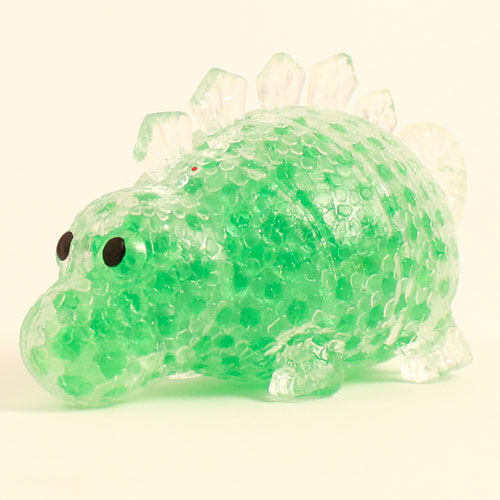 Stress Relief Squishy Squeeze Dinosaur Toy With Beads 12cm Product Gallery Image