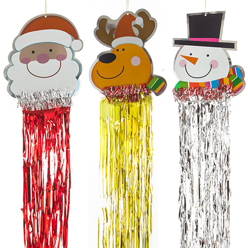 assorted-christmas-hanging-decoration-with-foil-streamers-product-image