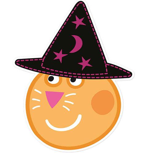 Candy Cat Peppa Pig Halloween Cardboard Face Mask