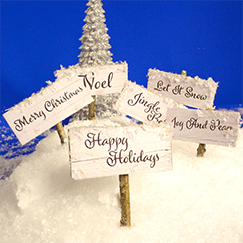 Christmas Party Signs