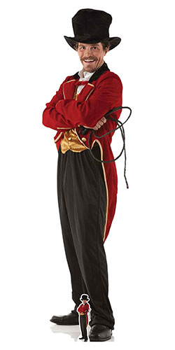 Circus Ring Master Lifesize Cardboard Cutout 193cm Product Gallery Image