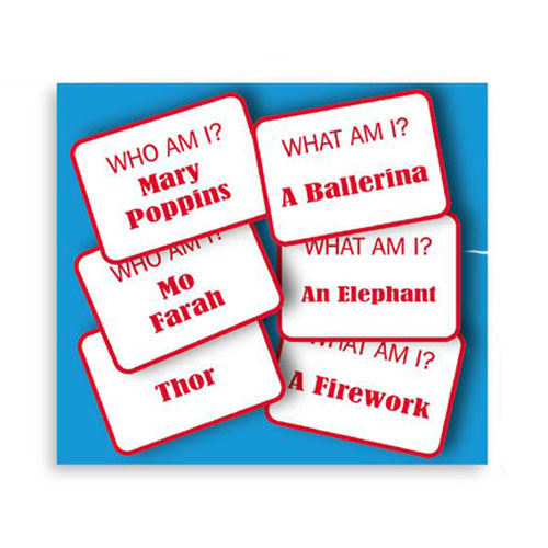 Who Or What Am I Game Christmas Crackers - Pack of 6 Product Gallery Image