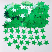 Green Stars Metallic Table Confetti 14 Grams