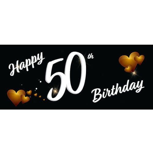 happy-50th-birthday-black-pvc-party-sign-decoration-600mm-x-255mm-product-image