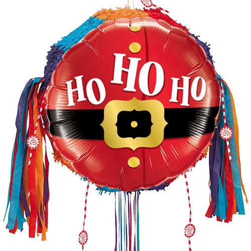 Ho Ho Ho Christmas Pull String Pinata