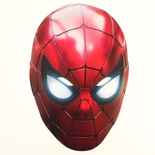 Iron Spider Avengers Infinity War Cardboard Face Mask