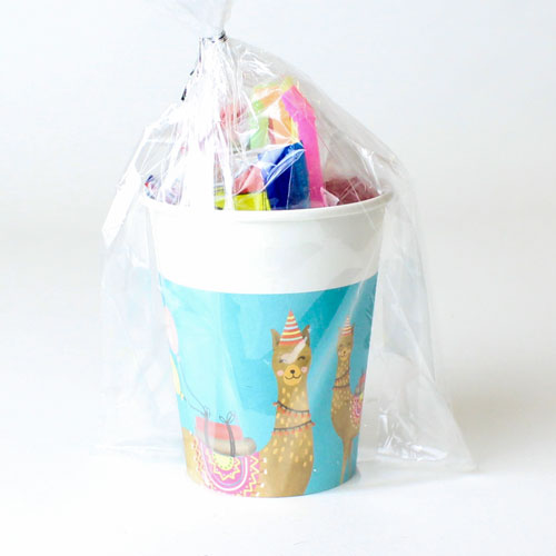 Llama Party Toy And Candy Cup