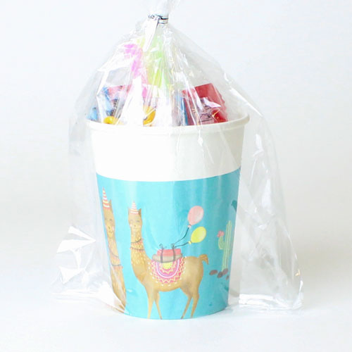 Llama Party Value Candy Cup