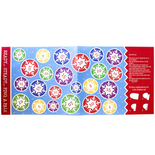 Ping A Pal Game Christmas Crackers - Pack of 6 Product Gallery Image