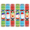 Ping A Pal Game Christmas Crackers Pack of 6 Product Image