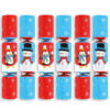 Snowball Slingshot Game Christmas Crackers Pack of 6 Product Image