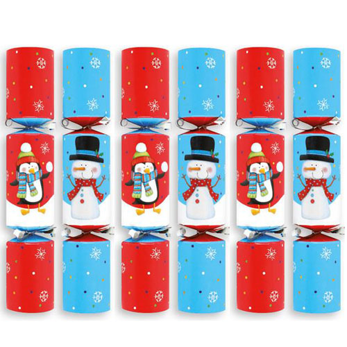Snowball Slingshot Game Christmas Crackers - Pack of 6 Product Gallery Image