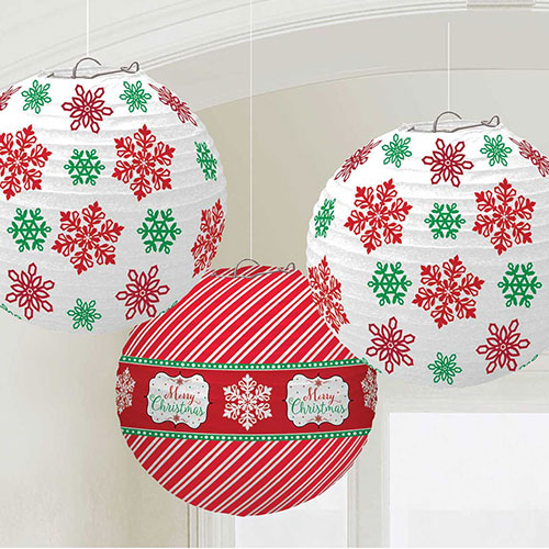 traditional-christmas-paper-lanterns-hanging-decorations-pack-of-3-product-image